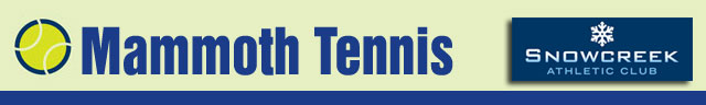 Mammoth Tennis Logo